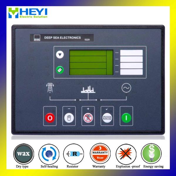 DSE5220 generator controller high quality diesel genset generator engine control unit(China (Mainland))