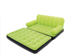 Inflatable Sofa As Bed Multifunctional Modern  Folding European Style One Set  PVC Home Furniture For Living Room And Outdoor(China (Mainland))