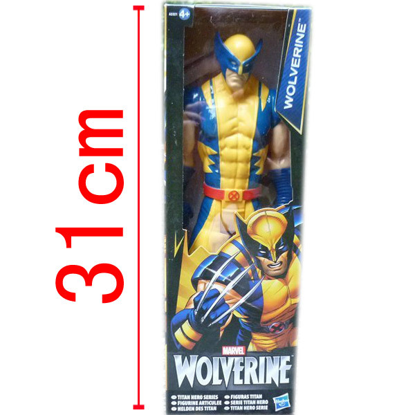 """Anime Marvel Super Hero X-men Wolverine PVC Action Figure the avengers Figure doll Collectible Model Toy 12""""30CM ACGN Brinquedos(China (Mainland))"""