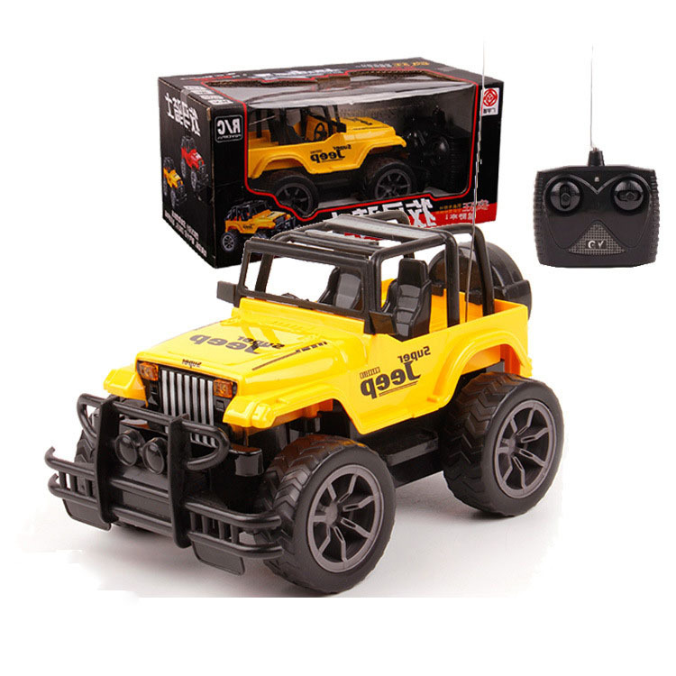 Best price! 1:24 Mini Radio Remote Control Simulated Cross-Country RC Car Jeep Remote Control Automobile Race Car Free Shipping(China (Mainland))