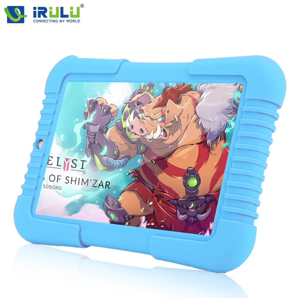 "Original iRULU Y3 7"" Blue Babypad 1280*800 IPS Android 5.1 A33 Quad Core Tablet PC 1G/16G iRULU Kids Tablet 4000 mAh Battery(China (Mainland))"