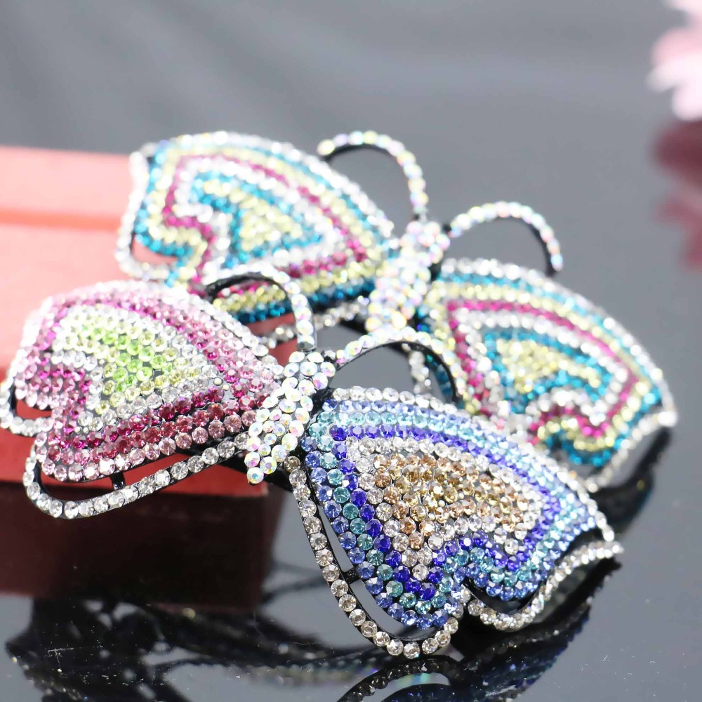 40*97mm Fashion Wedding Headdress Hairpin Rhinestone Headpiece Headband Head Bands For women Girls Jewelry Making(China (Mainland))