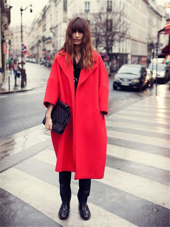 Popular Maxi Red Coat-Buy Cheap Maxi Red Coat lots from China Maxi ...