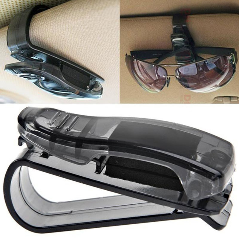 2016 Hot Sale Auto Fastener Cip Auto Accessories ABS Car Vehicle Sun Visor Sunglasses Eyeglasses Glasses Ticket Holder Clip(China (Mainland))
