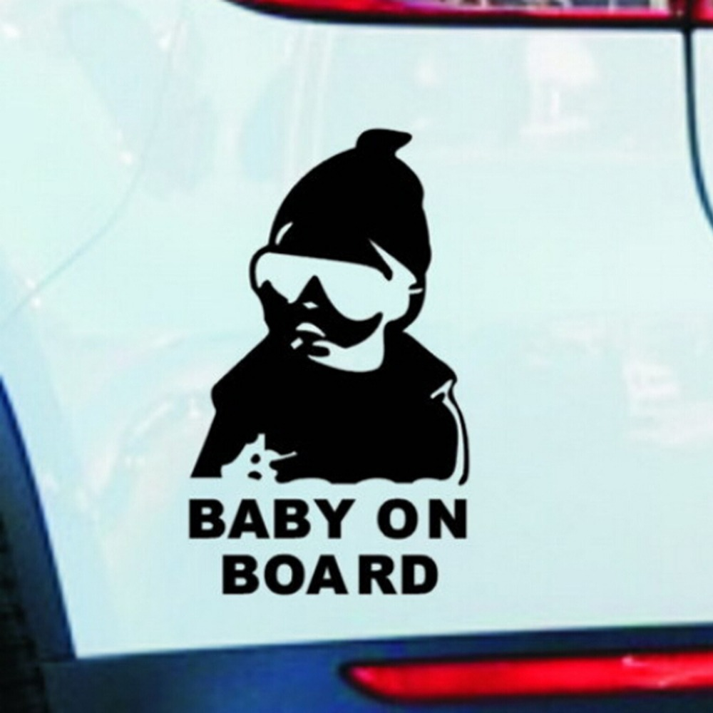 Super Cool Kids Baby on Board Carlos Hangover funny car vinyl sticker decal adhesive sticker