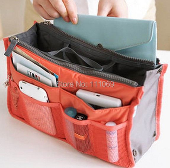 10.DHL Free 2015 Nylon Multifunction Make Organizer bag Purse Women Cosmetic bags Ourdoor Travel Bag Handbag Bolsas - XinJinDa Electronics Technology Co., Ltd. store