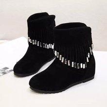 De Las Mujeres ocasionales Botas de Gamuza de Piel Cálido Y Confortable de Alta Calidad Australia Mujeres Botas de Moda Las Botas de Nieve de Invierno Zapatos Clásicos de la Marca(China (Mainland))