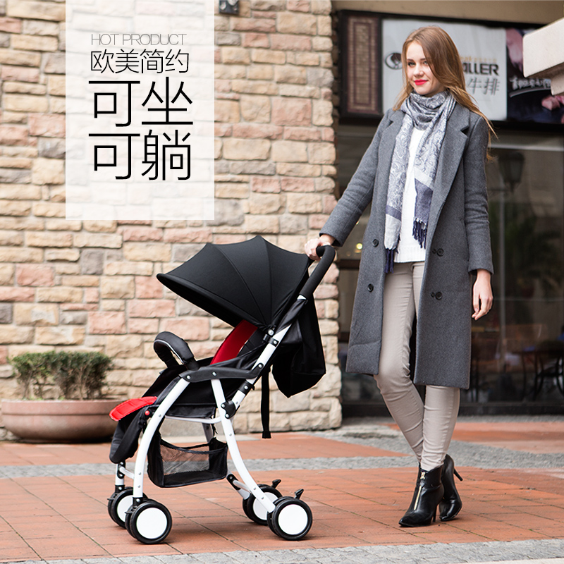 Folding Baby Stroller Portable Baby Carriage Light Weight Pushchair Bording Travel Pram(China (Mainland))