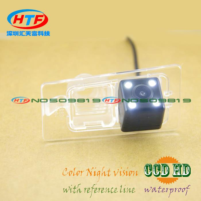 High quality wireless wire ccd HD LEDs night vision Car auto Rear parking camera for Kia Ceed European Version Asian elantra(China (Mainland))