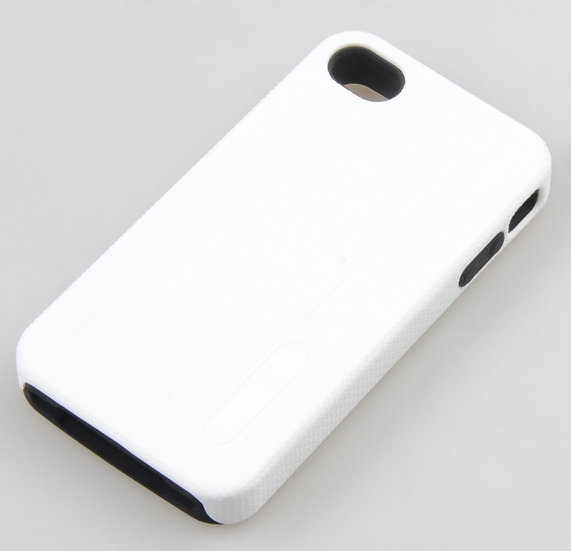 Mobile phone bags Kubalt Type Double Layer Case cover sheath face shell phone cases for Apple iPhone 4 / iPhone 4 CDMA Verizon(Hong Kong)