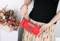 новые 2015 года женщины Карта Монета держатель zip Бумажник пу кожаный кошелек Клатч кошелек