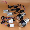 New Upgrade AC Metal Universal HID Xenon Fog lights Projector Lens Driving Lamps Front Bumper Lamp