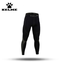 KELME Mens Workout Fitness Compression Leggings Pants Bottom Crossfit Weight Lifting Bodybuilding Skin Men Tights Trousers 28(China (Mainland))