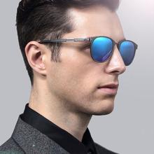 Unisex Retro de aluminio y magnesio gafas de sol polarizadas lente la vendimia exterior accesorios Eyewear Sun gafas gafas de sol 6680