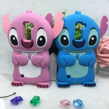 3D Silicon Case LG K10 M2 Cover crash proof cell Phone case silicone cartoon stitch soft bag housing back shell - Shenzhen BaoJiaLai Tech Co.,LTD store