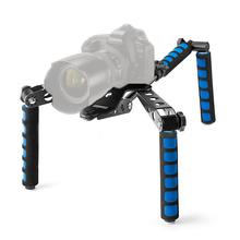 Buy DSLR Rig Movie Kit Shoulder Mount Stabilizer Video Camera Canon 5D II III 550D 60D 6D T2i T3i 7D Nikon D800 D810 D90 D7100 for $45.85 in AliExpress store