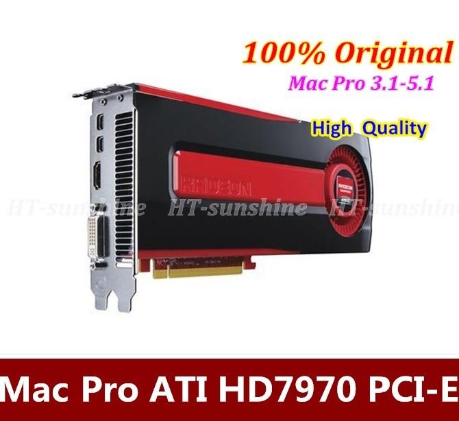 100% Original 3.1/4.1/5.1 HD7970 3GB PCI-E GDDR5 Graphic Video Card Support 4K Display Better than GTX680 1 year warranty DHL(China (Mainland))