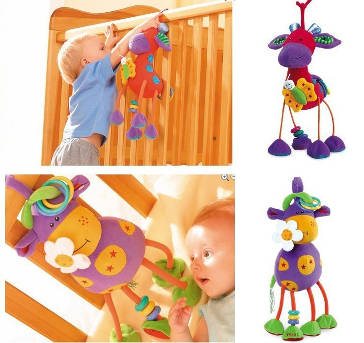 Baby rattle toys Germany Maverick / deer car bed lathe hanging plush baby mobiles kid rattles - Corner Store store