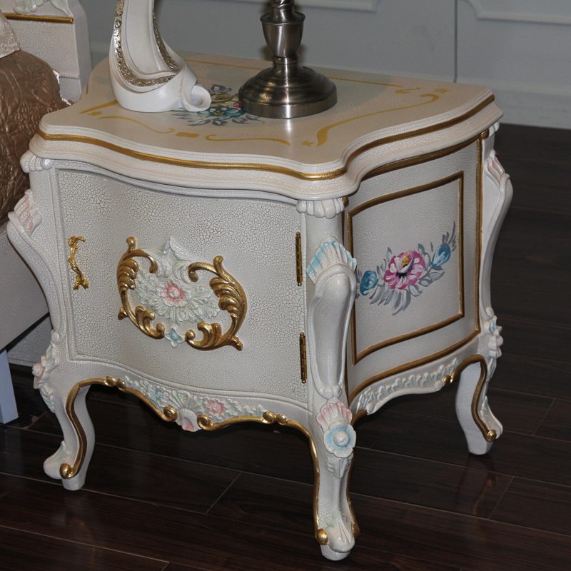 Buy Antique Reproduction French Style Furniture Antique Bedstand Furniture From