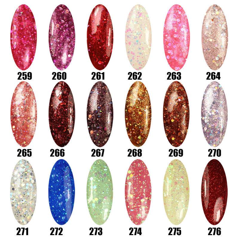 Limited Promotion Hot Sale Nail Gel Polish 8ml LED Color UV Gel Polish Long Lasting Soak off Gel Lacquer(China (Mainland))