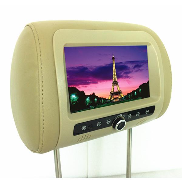 TV 7 inch headrest monitor digital screen 7 inch headrest car mobile TV digital television(China (Mainland))