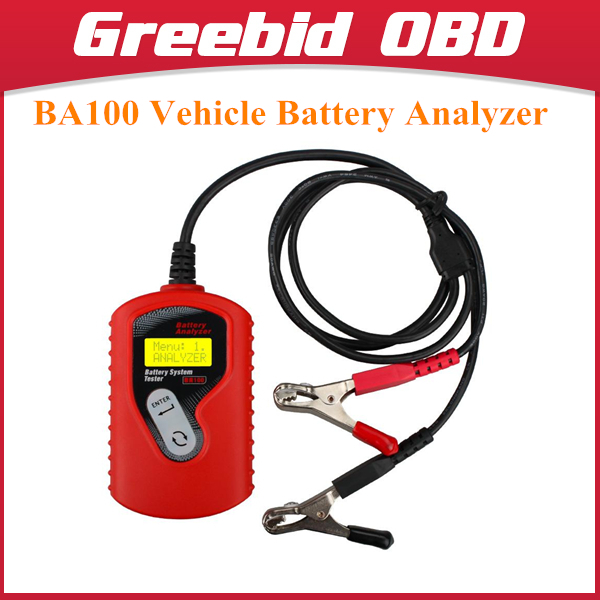 QUICKLYNKS BA100 Vehicle Battery Analyzer Vehicle Battery Tester BA100 Battery System Tester(Hong Kong)