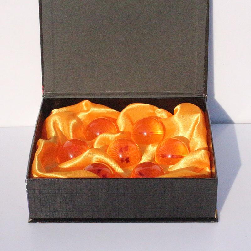 Dragon ball 4.5cm 7 star crystal ball 7pcs/set FS Promotion Japan Anime star ball