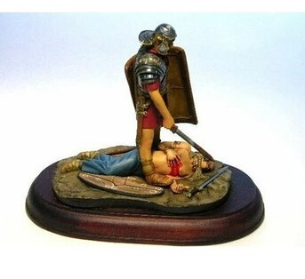 1/16 Scale Roman legionary soldier 120mm Historical WWII Figure Resin Kit Free Shipping(China (Mainland))