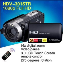 """Buy Newest Night Vision DV DV-301STR Max 24MP Shooting 16x Digital Zoom Photo Camera 3.0"""" Touch Display 1080P DVR Video Recorder for $79.99 in AliExpress store"""