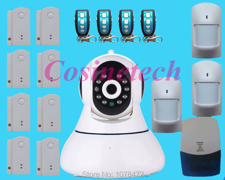 IP Camera 720P HD Wifi Wireless PTZ Security Camera ONVIF Cloud Night Vision Micro SD Card Wi fi alarm system<br>
