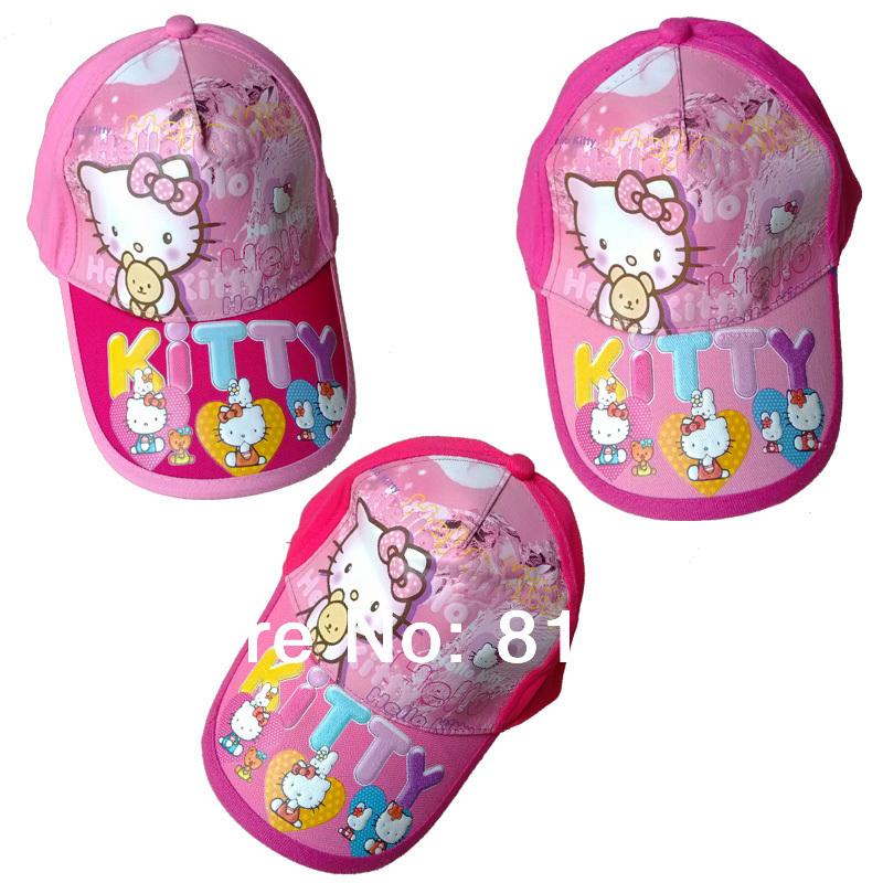 Wholesale 20pcs/lot(20designs) 2014 New wholesale kids visor children cartoon child visor 3D free ship baseball cap high quality(China (Mainland))