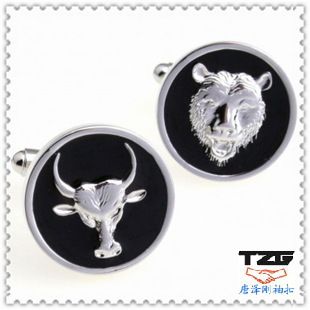 Lion Head Cufflinks animal cufflinks wholesale jewelry fashion clothing upscale gifts TZG02149 animal cufflinks(China (Mainland))