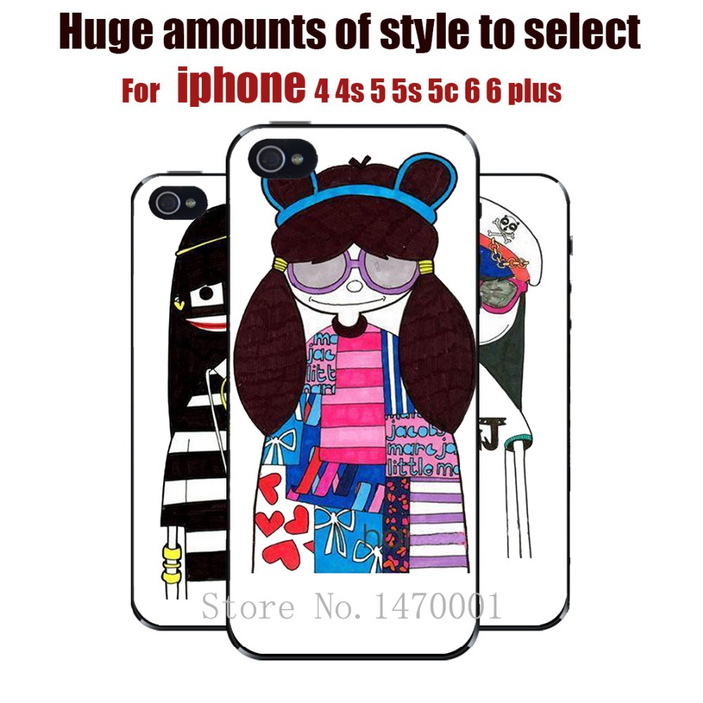 1 Piece Soft pc Shiny Silicon Cartoon JacobsMoschin Case Marc Fashion Cover For iPhone 6 6 plus 5 5s 5c 4 4s Free Shipping(China (Mainland))