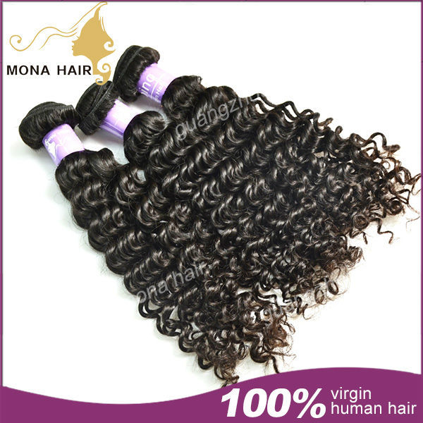 filipino virgin hair 3pcs a lot DHL FREE SHIPPING natural color curly hair extensions wholesale virgin filipino queen curly hair