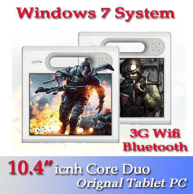 "Original Used Tablet PC Computer 10"" Inch 2GB ROM 80GB HDD Windows 7 100% Original Used Tablet PC Laptops Notebook Computer(China (Mainland))"