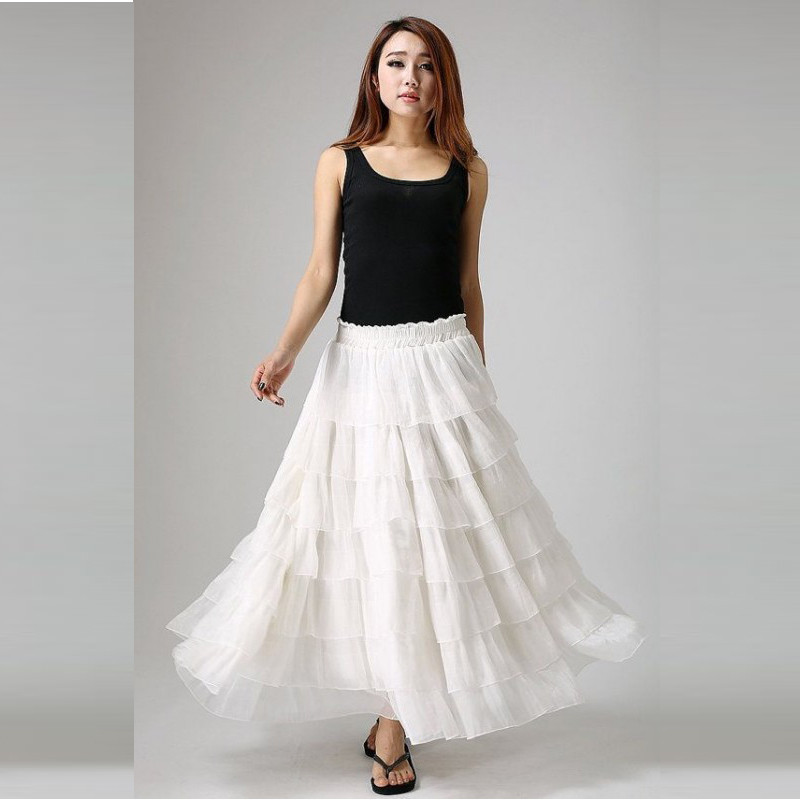 Long white skirts on sale – Modern trending things photo blog