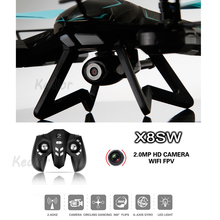 KEDIOR 720P HD Camera Drone RC Helicopter Quadcopter WiFi FPV Real-time video Can Add 2.0mp Camera Better Than Syma x5sw