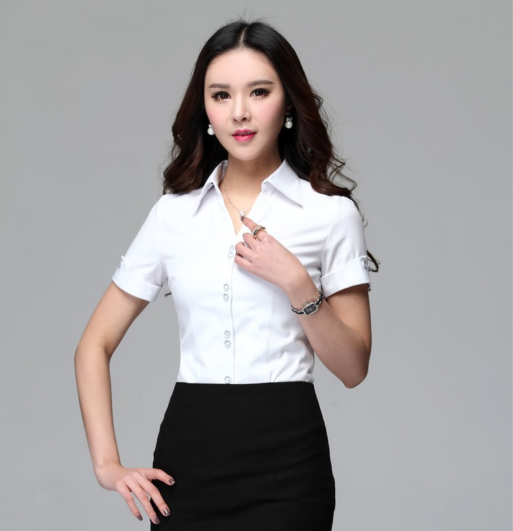 Popular National Uniforms Womens Uniform Blouse  A Classic Look For