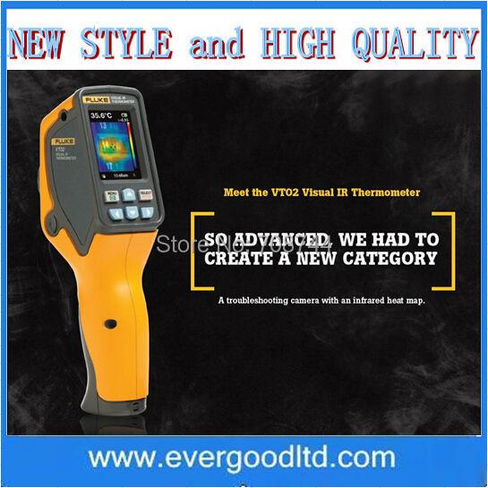 High Quality Precision Fluke VT02 Visual IR Thermometer Thermal Imager(China (Mainland))