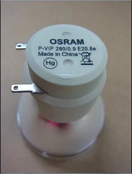 Фотография 100% new Original bare lamp OSRAM P-VIP 280/0.9 E20.8e / P-VIP 280/0.9 E20.8 for Optoma BL-FP280D