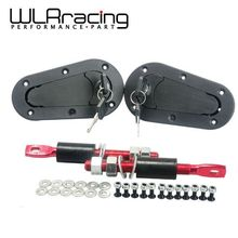 WLRING STORE-D1 Generation Aerocatch Bonnet Pins Plus Flush Kit Hood Pin Plastic With Lock(China (Mainland))