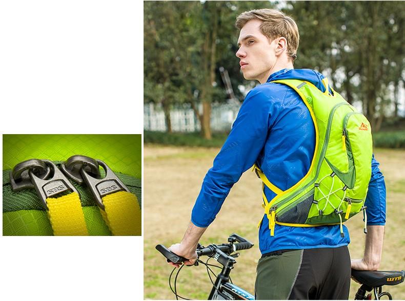 2016 Новый 15L Профессиональные Велоспорт Велосипед Рюкзак Водонепроницаемый Нейлон Дорожная Сумка, Пакет Гидратации