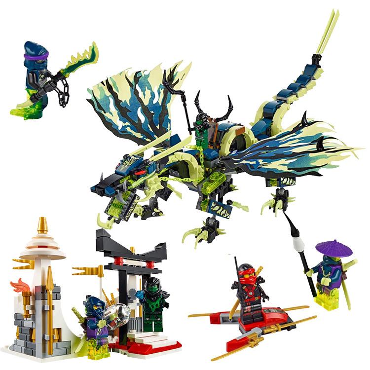 Ninjago Marvel Ninja Building Block 79120 Action Figure Model Kits Brick Toys Minifigures Ninjagoed Compatible Legoe magformers