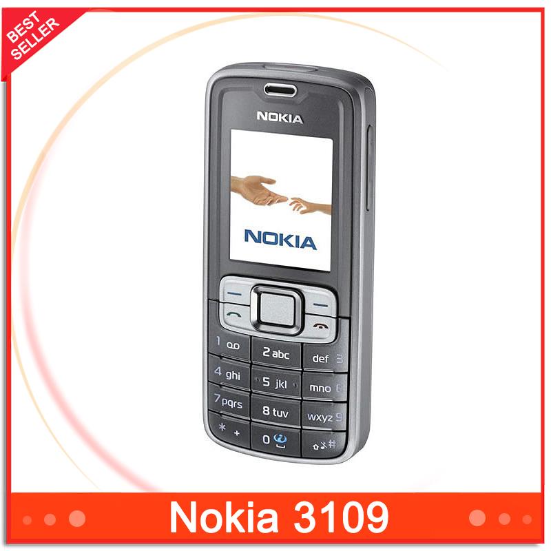 Original Nokia 3109 classic Mobile Phone Singapore Post Free Shipping(China (Mainland))