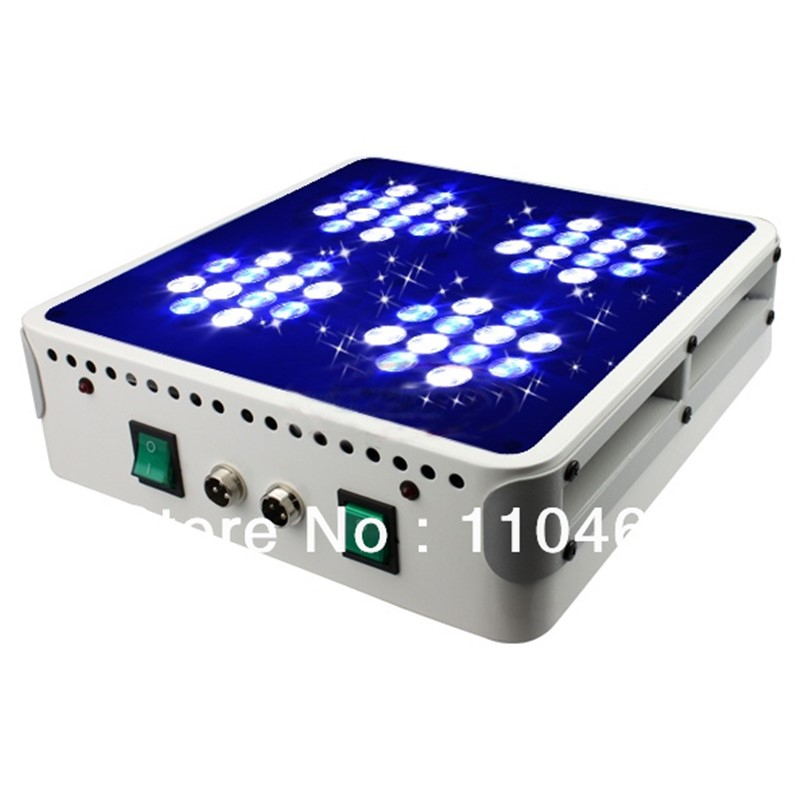 Promotion!Free shipping new 144W(48x3w) Apollo 4 3840LM Led aquarium light/Led reef coral tank light 100% 3years warranty(China (Mainland))
