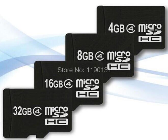 Гаджет  Wholesale- Real Capacity 4GB 8GB 16GB 32GB  micro sd card TF Memory card +Free card reader - free shipping None Компьютер & сеть