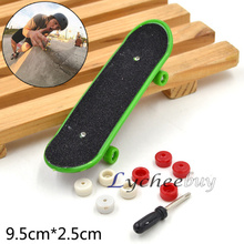 Send Random New Fashion Novelty Items Fingerboard Children Toy Finger Skateboards Gift For Kids Friends(China (Mainland))
