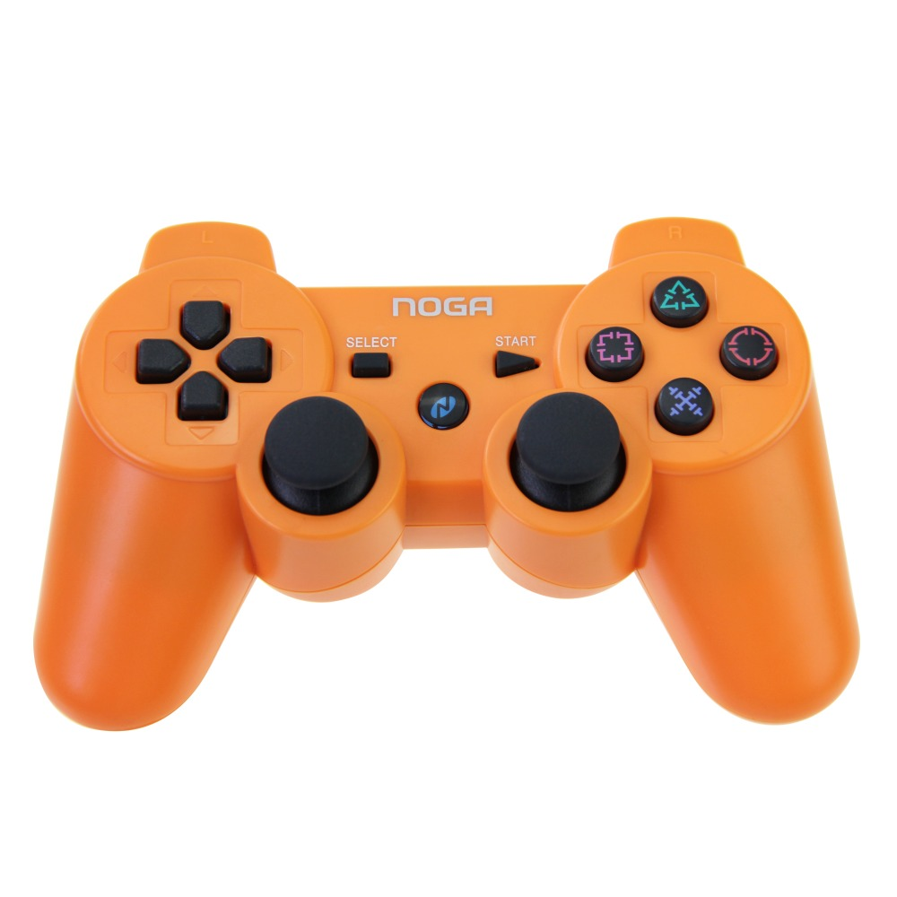 Orange For PS3 Controller Original NOGA Wireless Game Joystick Dual Vibration Bluetooth Gamepad For PS3 Controller(China (Mainland))