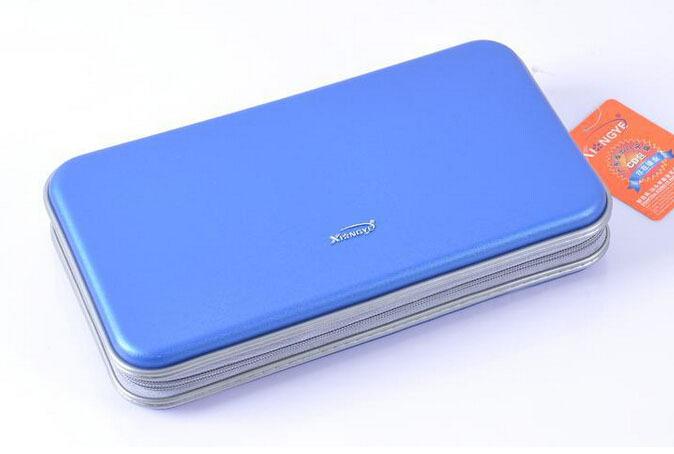 New design blue portable 80 disc cd dvd dj carry bag case cover wallet storage organizer holder - Porta cd design ...