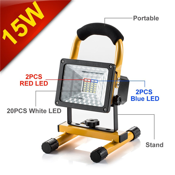 Camping Lights, Built in Rechargeable Lithium Batteries With USB ...